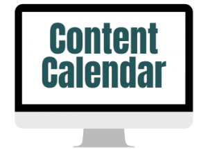 All(n) Designs How to Create a Content Calendar Image