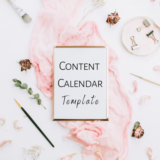All(n) Designs Content Calendar Freebie